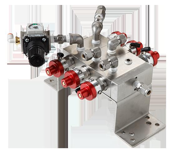 Autoquip's color valve stack