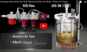 Autoquip's Eco-Flow Air Motor saves you money