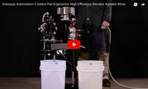 Autoquip's 5 gallon pail lift system video