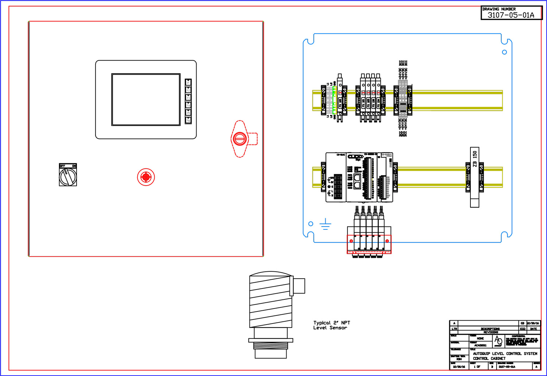 Autoquip liquid level sensing
