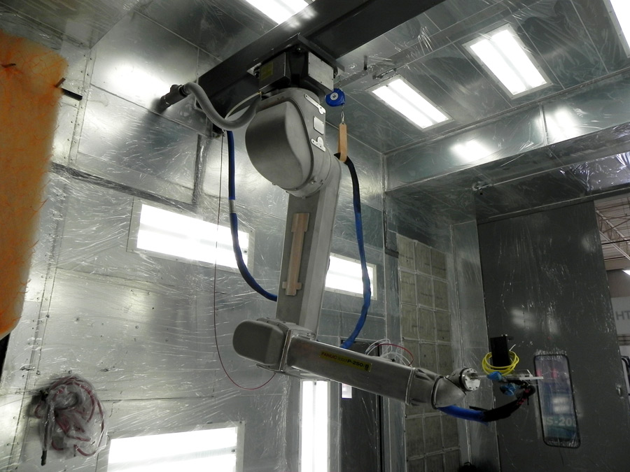autoquip robotic and paint integration