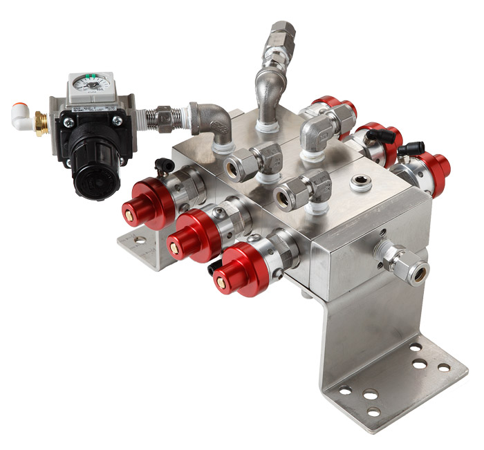 Autoquip Color Change Valves and Manifolds