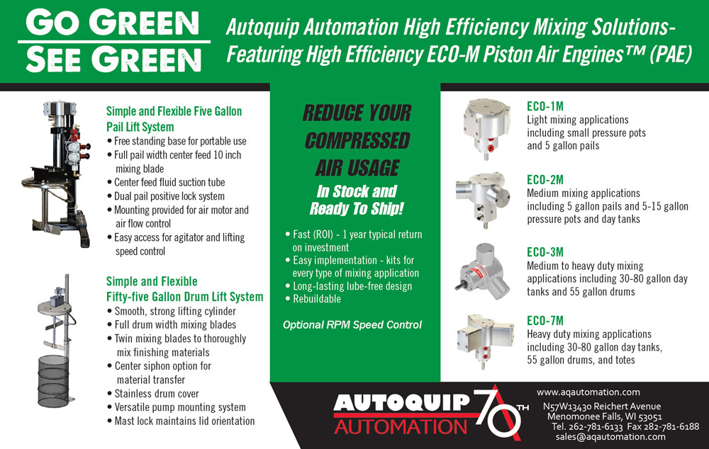 Autoquip Automation Go Green Ad